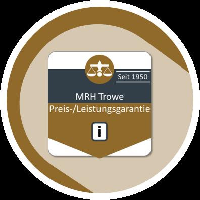 Font MRH Trowe Preis-/Leistungsgarantie
