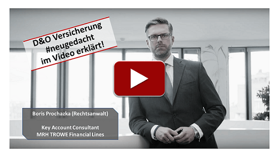 D&O Versicherung #neugedacht Video