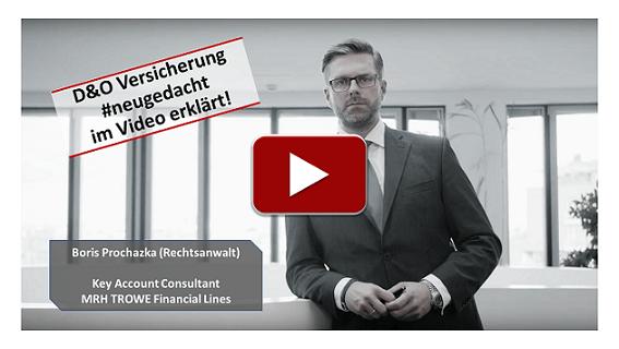 D&O Versicherung #neugedacht Video