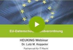 EU-DSGVO Datenschutz Seminar