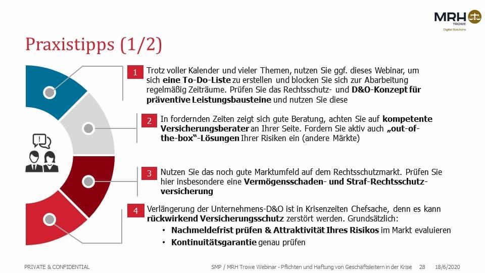 Praxistipps Geschäfsführerversicherung
