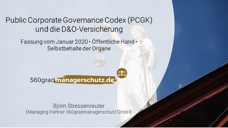 PCGK D&O Versicherung